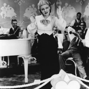 Ginger Rogers as the hilarious, fake Polish countess Tanka in Roberta (1935).