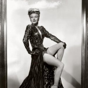 Ginger Rogers as Liza Eliott in Kurt Weills wonderful musical Lady in the Dark (1944).